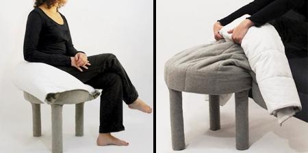 Blanket Footrest Chair