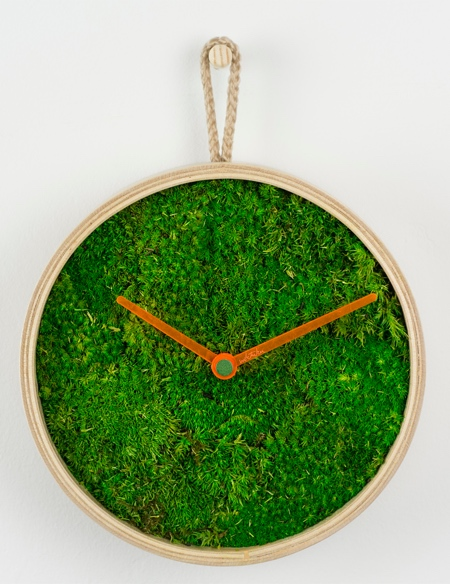 Green Grass Clock