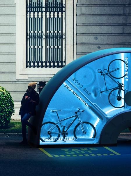 Bicycle Vending Machine