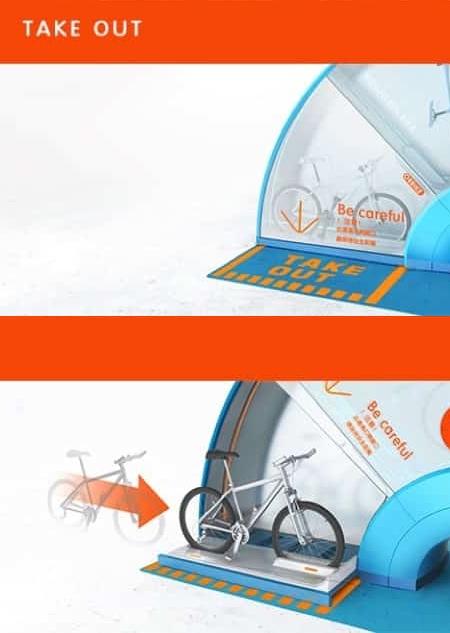 Bike Renting Machine