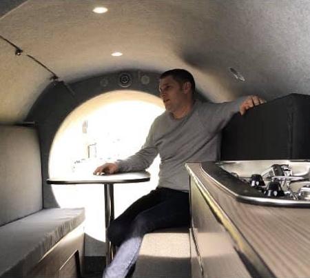 Steve Jones Jet Engine Camper Trailer