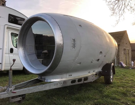 Jet Engine Caravan
