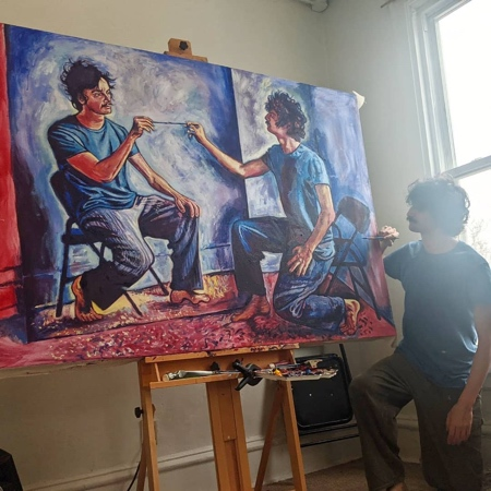 Seamus Wray Self-Portrait
