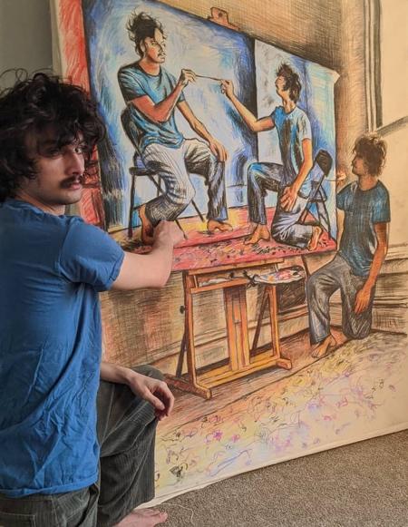 Seamus Wray Self-Portraits