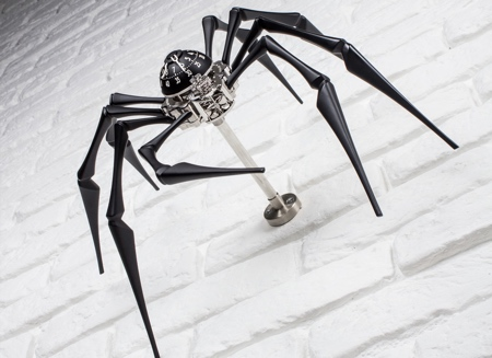 Arachnophobia Clock