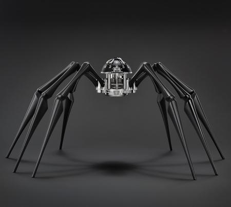 MB&F Spider Clock