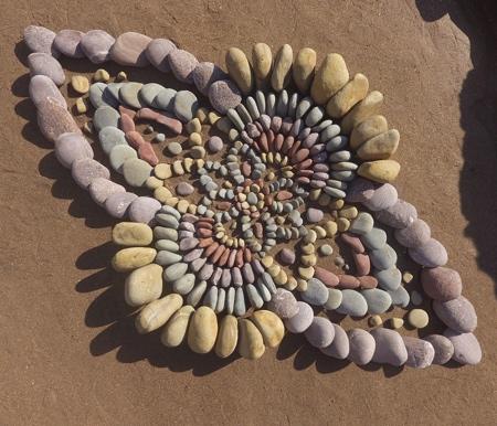 Stone Land Art