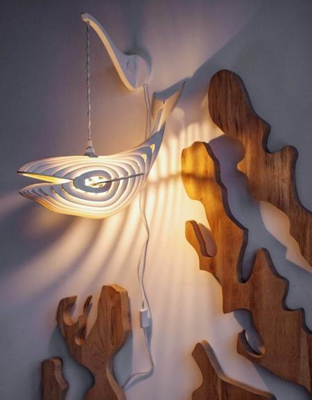 Eduard Golikov Whale Lamp