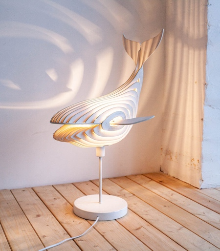 Whales Lamp