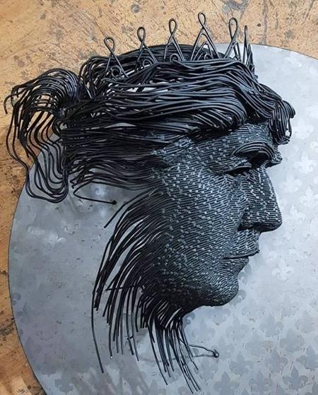 Sculptures by Darius Hulea