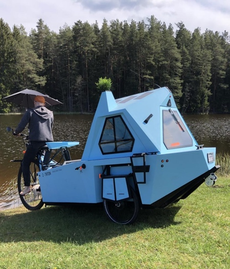 Z-TRITON Amphibious Tricycle Camper