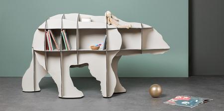 Animal Bookshelves