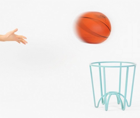 Joong Han Lee Basketball Stool