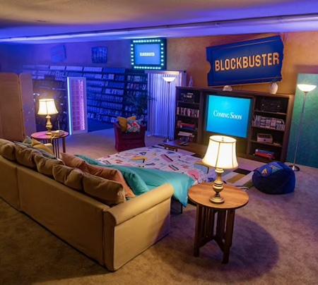 BLOCKBUSTER Video Airbnb