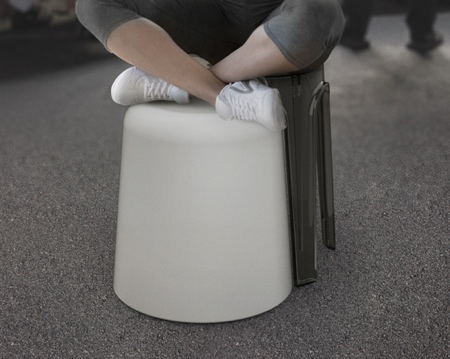 Cross-Leg Stool