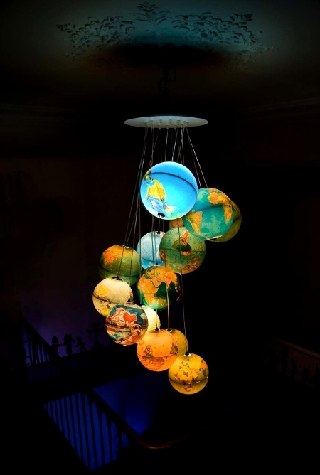 Globes Chandelier