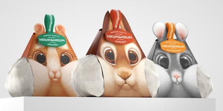 Squirrel Nuts Packaging
