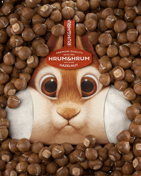 Creative Hazelnut Packaging