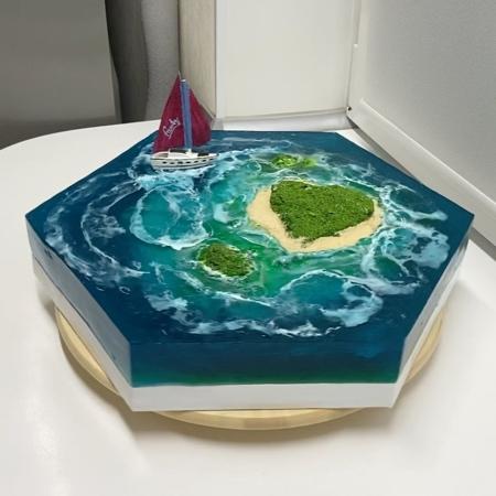 Island Cake