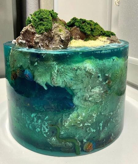 Dolnyk Tropical Island Cakes