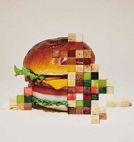 Pixel Food Art