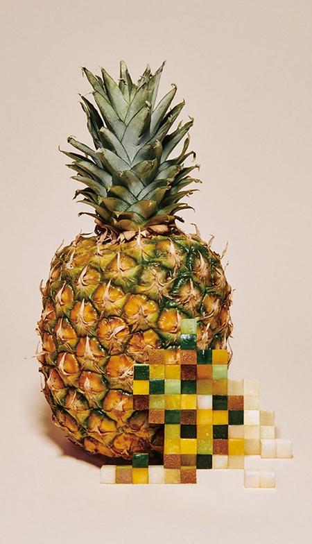 Yuni Yoshida Pixelated Food Art