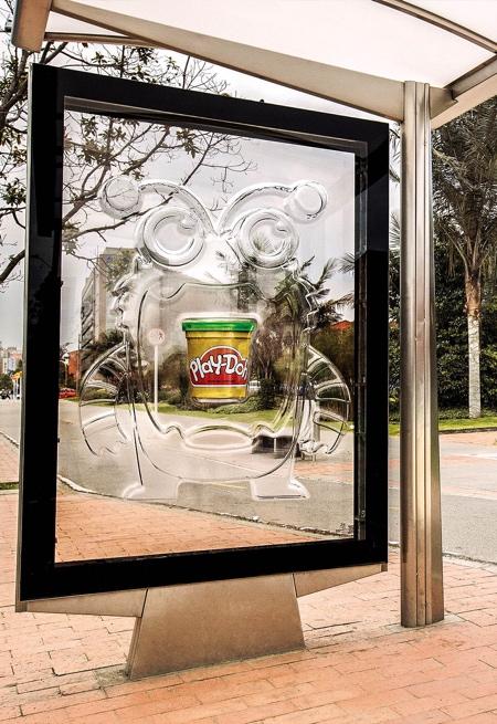 Play-Doh Bus Stop