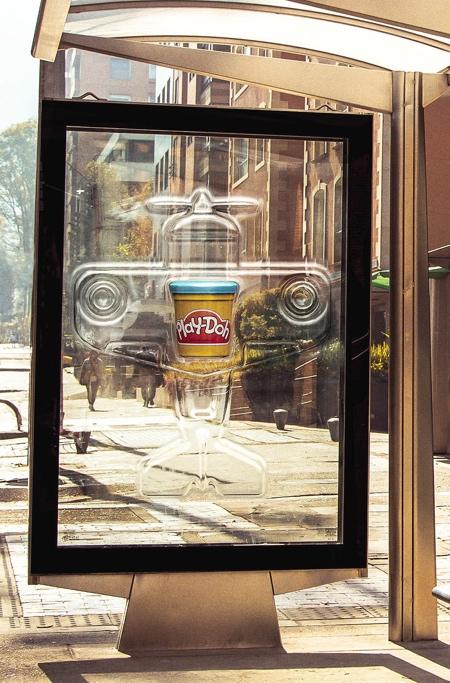 Play-Doh Billboard