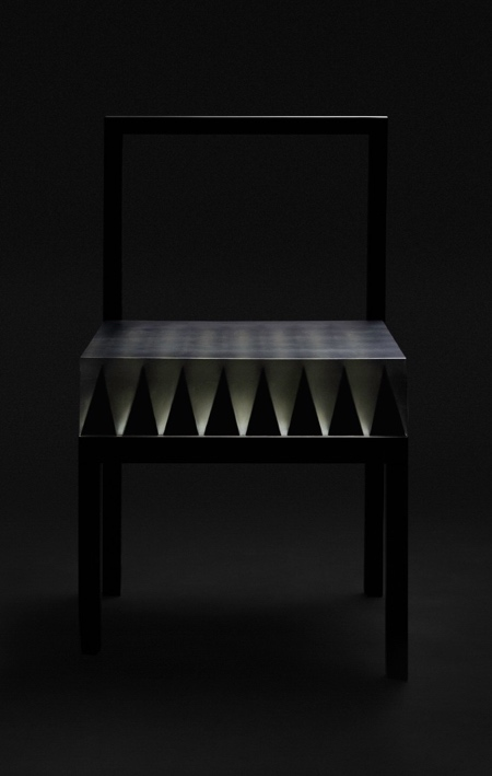 Chair with Spikes