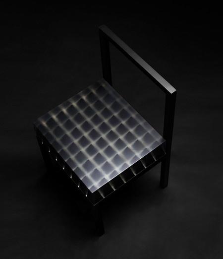 Optical Illusion Spike Chair