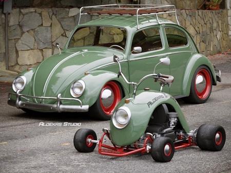 Volkswagen Beetle Kart