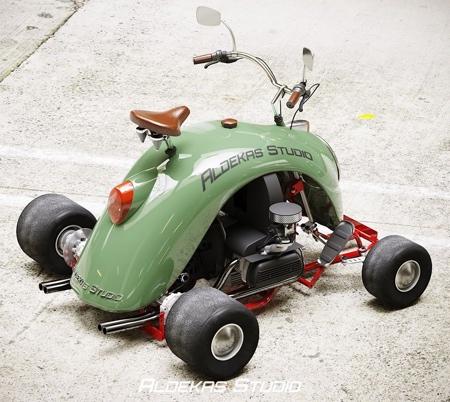 Aldekas Studio Volkswagen Beetle Go-Kart