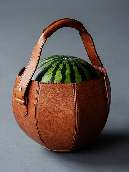 Watermelon Leather Bag