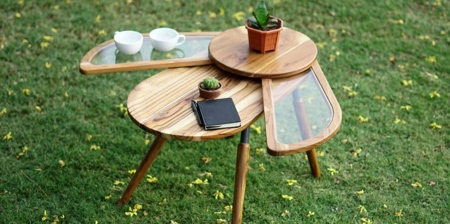 Beetle Wings Coffee Table