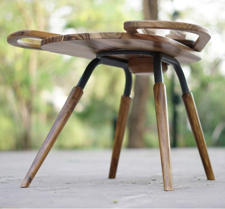 Wooden Beetle Table