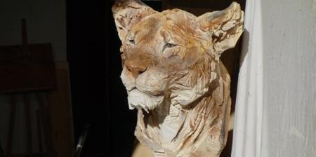 Chainsaw Sculptures by Jürgen Lingl-Rebetez