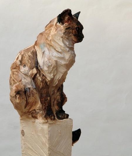 Jürgen Lingl-Rebetez Chainsaw Sculptures