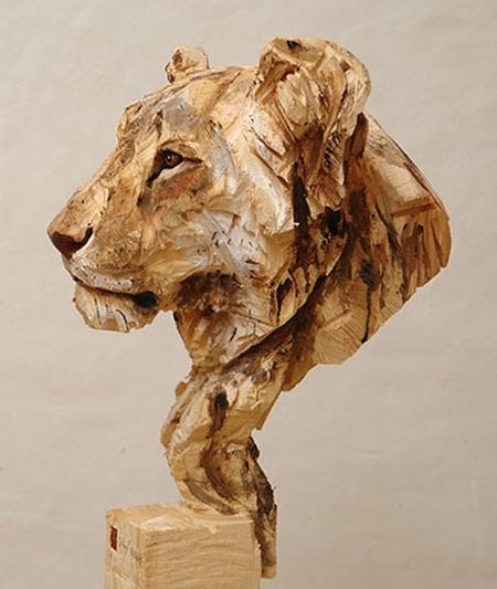 Jürgen Lingl-Rebetez Wood Carving
