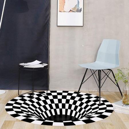 3D Visual Illusion Rug