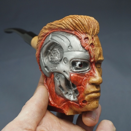 Terminator Wooden Pipe