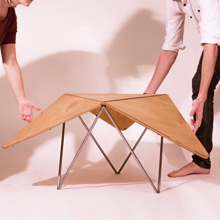 Peter Nasielski Clover Table