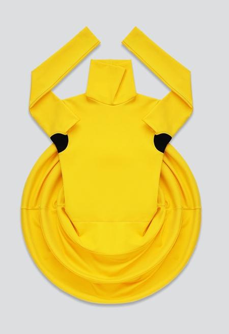 Collapsible Yellow Skirt