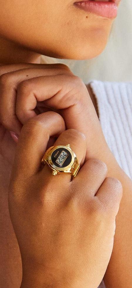 Digital Watch Finger Ring
