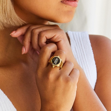 Pikoo Digital Watch Ring