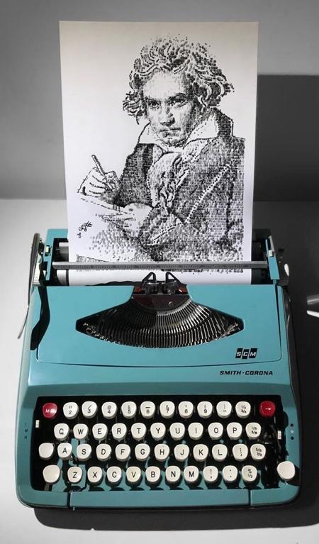 Typewriter Paintings