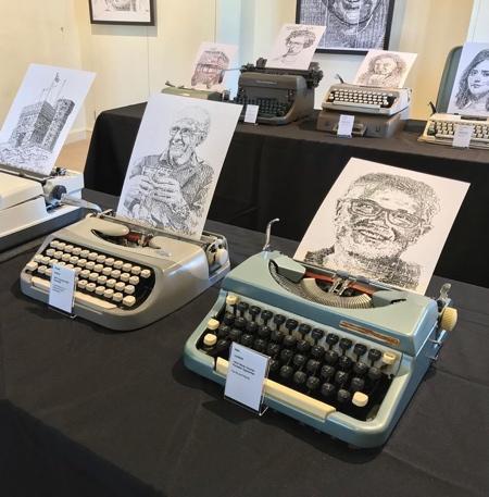 James Cook Typewriter Drawings