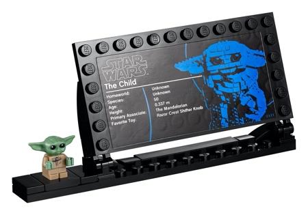LEGO The Mandalorian Baby Yoda