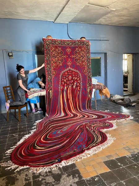 Melting Carpets