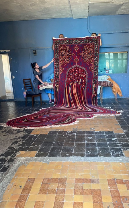 Faig Ahmed Melting Carpet