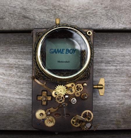 Steampunk Game Boy Color